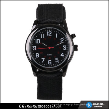 Stainless steel back Quartz man watch for wholesale