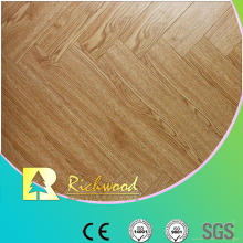 Household 8.3mm Embossed Hickory Waxed Edged Laminate Flooring