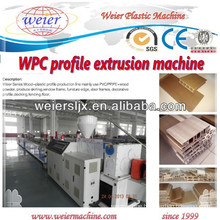 balcony WPC decking/floor profile machinery