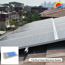 Structure de montage au sol pour pôle solaire innovante (MD0293)