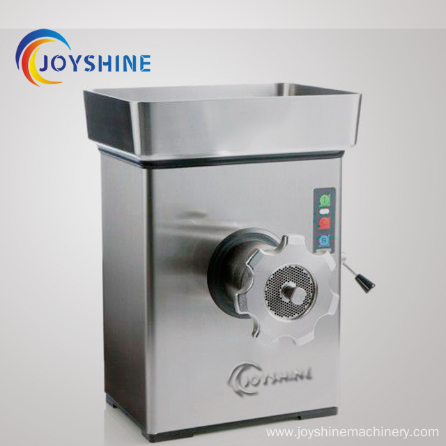 stainless steel industrial electric meat mincer machine