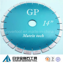 "Gp 14""*20mm Granite Cutting Diamond Saw Blade"