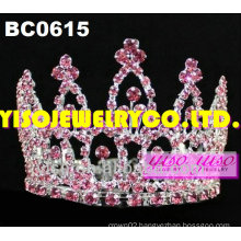 beauty round tiaras and crowns