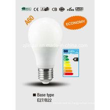 A60 bombilla LED de luz (tipo económico)