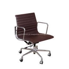 Cadeira moderna de couro Eames Office
