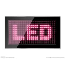 Bernsteinfarbenes LED Dot Matrix Display