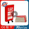 Fiberglass fire blanket/welding blanket/ rated curtains