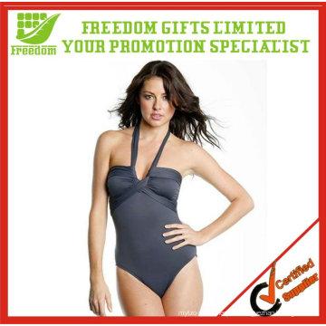 Top-Qualität Logo gedruckt Sexy Frauen Badeanzug