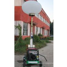 Vente chaude portable mobile d'urgence conduit ballon lumière tour FZM-Q1000