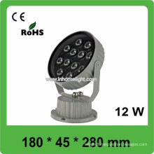 3 years warranty CE&ROHS AC85v-265v waterproof IP66 12W outdoor flood light led