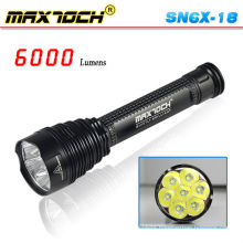 Maxtoch SN6X-18 Most Powerful Led Flashlight Torch