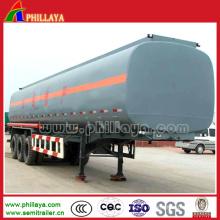 Réservoir lourd de carburant d'huile de camion de 3axles pour la semi remorque