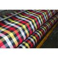 100% Polyester Garn gefärbt Check Design Shirt Stoff