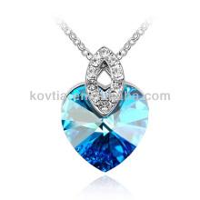 Горячее сердце продажи ожерелье титаническое ожерелье море кулон