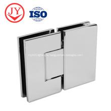 Bathroom glass hinge brass 180 degree shower hinge