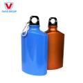 Bouteille d'eau de sports en métal en aluminium de large bouche faite sur commande