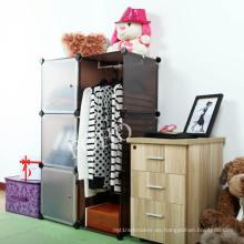 Gabinete de exhibición de Brown Color DIY, zapatero, gabinete de cocina (FH-AL0021-3)
