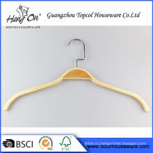 Ламинированные одетые Деревянная вешалка печатных логотип