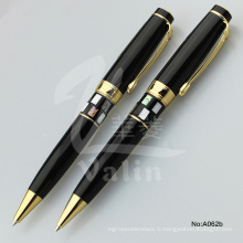China Metal Pen Factory Stylo cadeau publicitaire pour fourniture de bureau