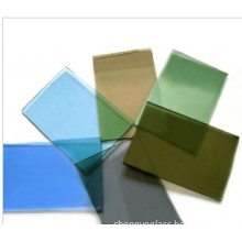 ISO9001 Bronze, Dark Blue, Euro Grey Reflective Float Glass