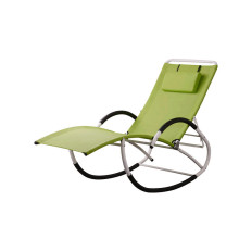 Factory Outlets for Outdoor Sun Loungers rocking chair with steel frame export to Georgia Suppliers