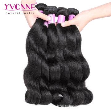 Высокое Качество Девы Малайзии Человеческих Волос Weave