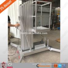 cheap single aluminum mast vertical lift conveyor vertical man lift with CE