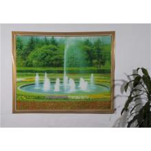 Neue unabhängige Design-LFGB Transparent Printed Tischdecke 120 * 152cm (TZ0007)