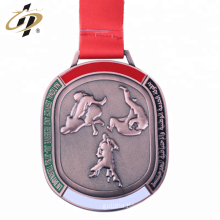 Wholesale custom 3d brass metal judo championship medal for UAE