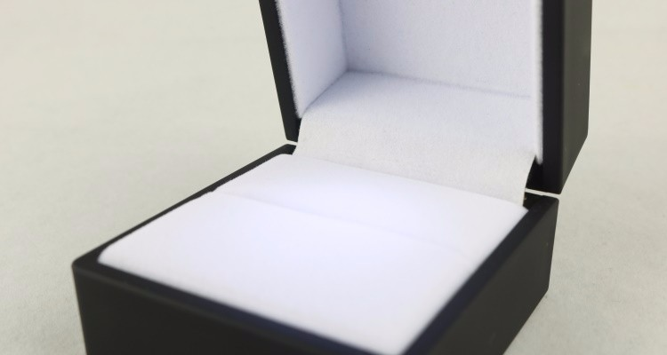 Ring Box with LED Light
