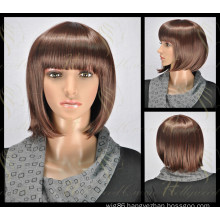 Beautiful Women′s Synthetic Wigs (HQ-SW-S6)