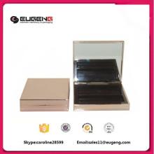 Paleta de sombra de plástico vazia personalizada de 2 cores