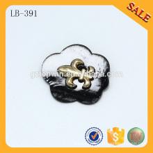 LB391 Parches de cuero de prendas de vestir decorativas personalizadas logo jeans pu prendas de vestir de cuero etiquetas y etiquetas
