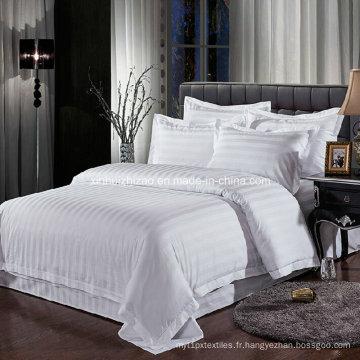 Ensemble de literie de haute qualité pour la maison/hôtel de 2016 100 % coton