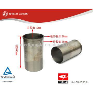 YuChai Engine YC4E cylinder liner 530-1002026C