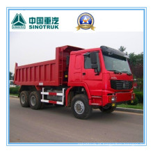 Caminhão de descarregador de Sinotruk / Cnhtc HOWO 6X6 / caminhão de caminhão basculante / caminhão basculante 290HP