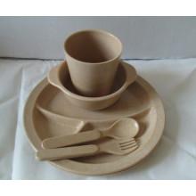 (BC-CS1068) Set de vajilla de fibra de bambú para niños