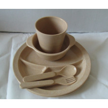 (BC-CS1068) Bamboo Fibre Tableware Set for Kids