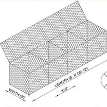 Galvanized gabion box, 2018 hot sale pvc coated gabion wire mesh box