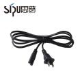 SIPU IEC Usa fiche inserts 2 broches nous brancher câble d'alimentation ordinateur portable