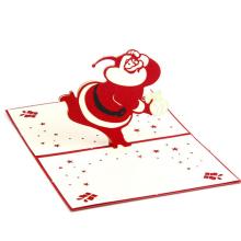 FQ marque papier personnalisé artisanat décoration à la main noël 3d carte de voeux