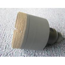 56mm drill bit/ sintering diamond&bronze drill bit/taper-shank drill bit/ diamond drill bit for glass drilling