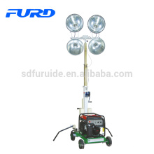 FURD 1000wattx4 torre de luz exterior para generador diesel de halogenuros metálicos (FZM-1000B)
