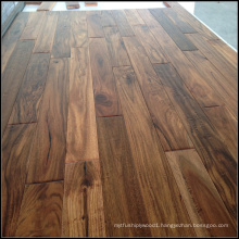 Handscraped Small Leaf Solid Acacia Wood Flooring