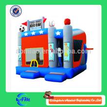 Deportes temas personalizados hinchables hinchable castillo inflable combo