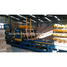 Sf901 Automatic Stringer Wood Pallet Nailing Machine
