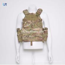 Chaleco táctico a prueba de balas del chaleco táctico de la seguridad del camuflaje del ejército con los bolsillos