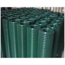 Зеленый сварной сеткой ПВХ покрытием