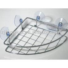 Feito na China High quality strudy wire banheiro rack com ventosa