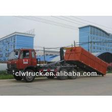 DongFeng 6x4 brazo-roll camión de basura (16 cubo)